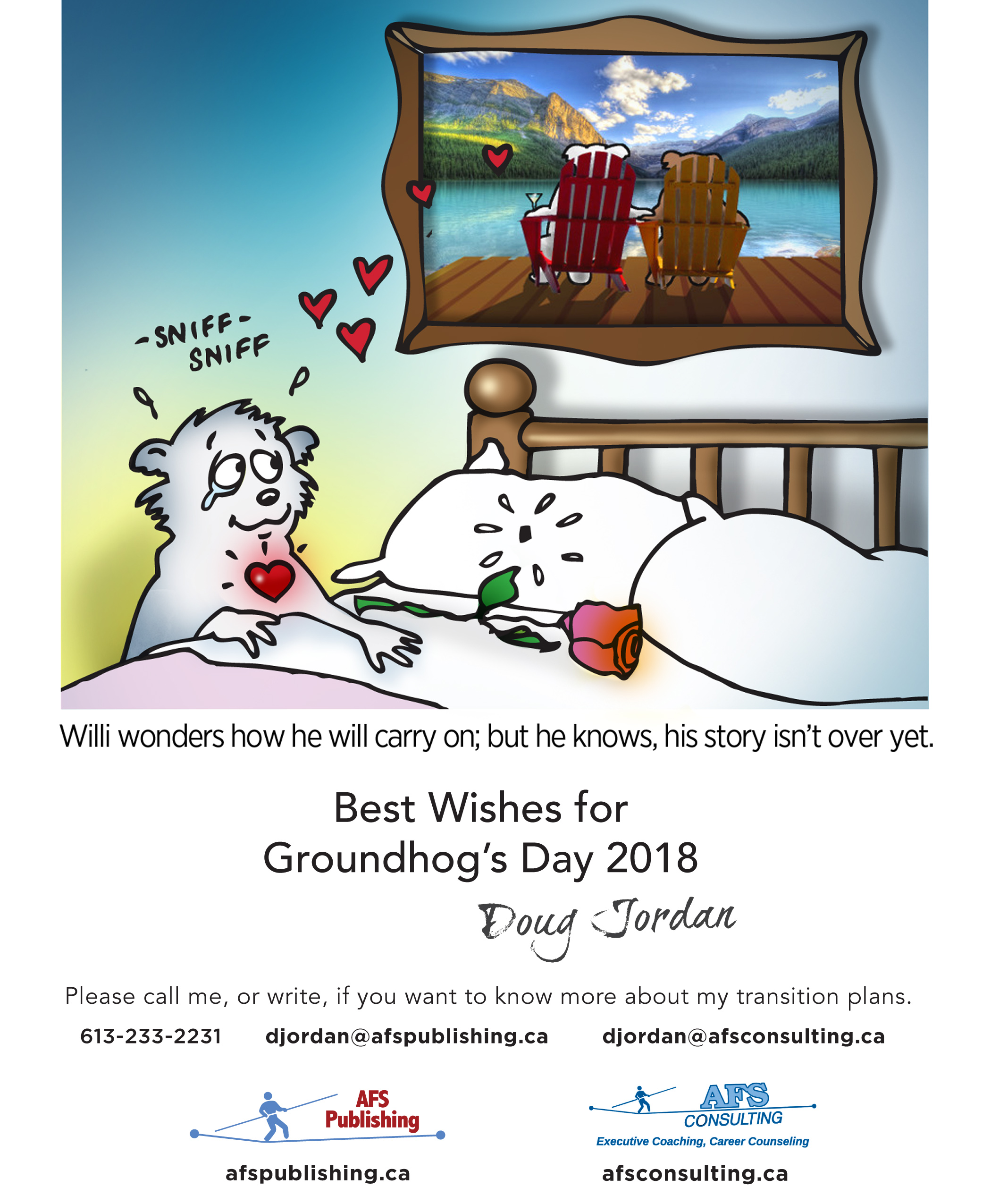 Off the wall – Groundhog Day 2018