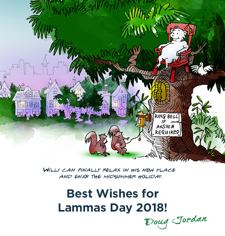 Off the wall – Lammas Day 2018