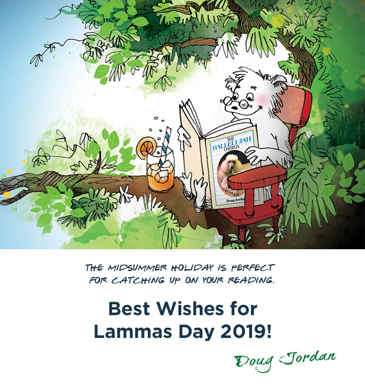 Off the wall – Lammas Day 2019