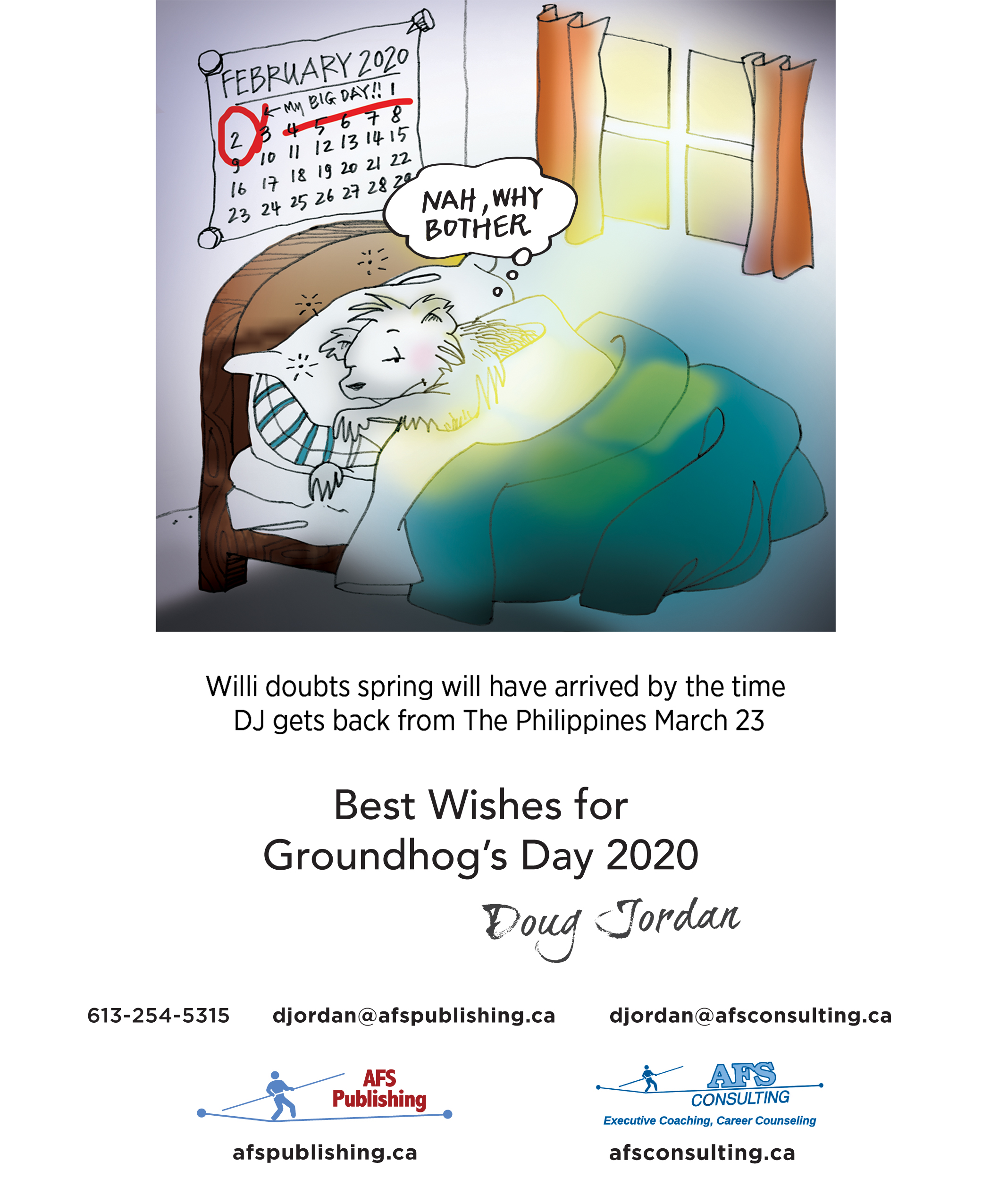 Off The Wall – Groundhog Day 2020
